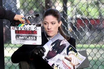 Jennifer Carpenter Stars on the Set of 'Limitless' in NYC