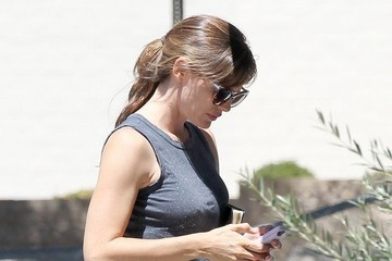 Jennifer Garner Ben Affleck and Jennifer Garner Out in Brentwood