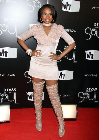 Jennifer Hudson Celebrities at the VH1 Divas Celebrates Soul at the Hammerstein Ballroom in New York City, NY... Pictured: Jennifer Hudson