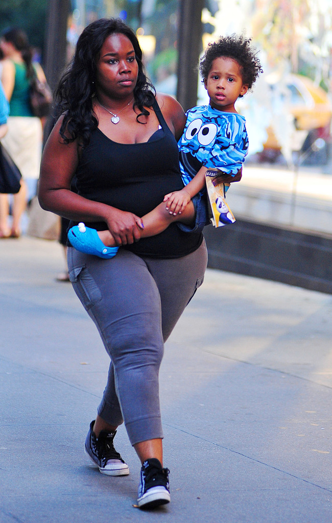 Jennifer Hudson's son David Otunga Jr. Out with the Nanny ...