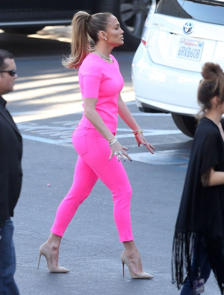 Hot Or Not Jennifer Lopez At American Idol Taping In Hot