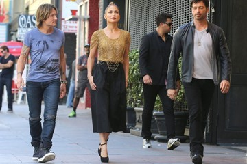 Jennifer Lopez Harry Connick, Jr. 'American Idol' Judges Head to Auditions
