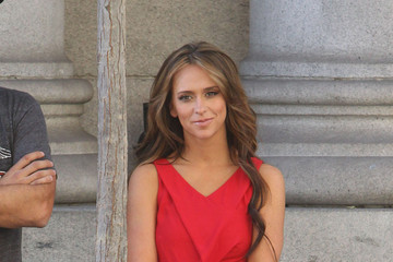 Jennifer Love Hewitt Jennifer Love Hewitt Films Scenes For 'The Client List'