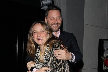Jennifer Meyer Celebrities Enjoy A Night Out At Craig's
