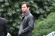 The cast of Once Upon A Time filmed scenes at a mansion location in Vancouver, British Columbia, Canada on January 30, 2012  and on this set location actress Jennifer Morrison, actress Ginnifer Goodwin and Eion Bailey looked to enjoy working with one another.
