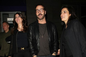 Jeremy Piven Celebrities Dine Out at Toca Madera