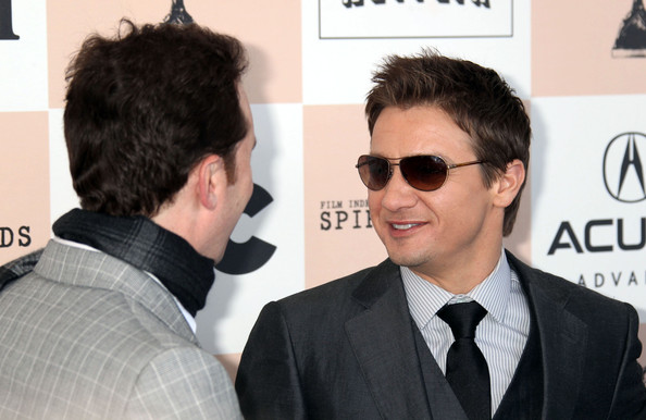 Jeremy Renner Celebrities attending the 2011 Film Independent Spirit ...