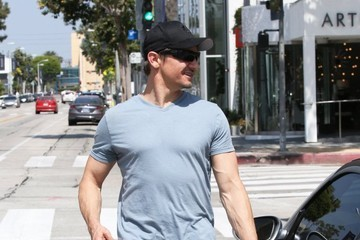 Jeremy Renner Jeremy Renner Out in LA
