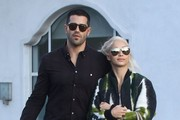 Jesse Metcalfe and Cara Santana Go out Shopping in Beverly Hills