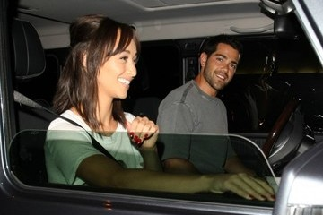 Jesse Metcalfe Celebrities Dine Out at Craig's Restaurant