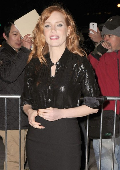 Jessica Chastain daily show