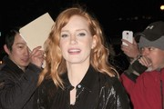 Jessica Chastain Visits 'The Daily Show with Jon Stewart'
