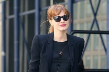 Jessica Chastain Goes for a Stylish Stroll