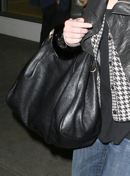 Jessica Simpson Leather Hobo Bag