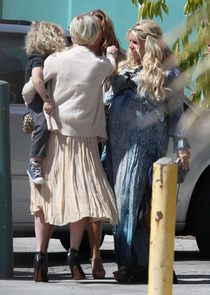 Jessica Simpson Photos Photos Guests At Jessica Simpsons Baby