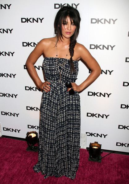 Jessica Szohr Celebrities at the DKNY Sunglass Soiree in New York City, NY.