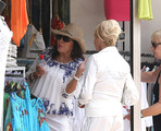 Ivana Trump and Joan Collins Photos Photo