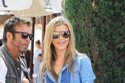 Joanna Krupa Gets Lunch At Il Pastaio