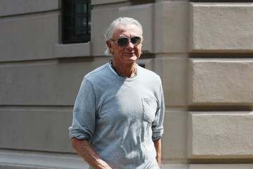 Joel Schumacher Joel Schumacher Out and About in NYC