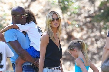 Johan Samuel Heidi Kulm & Seal Watching Their Kids Play Soccer Together
