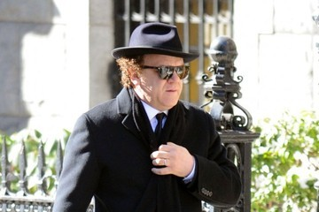 John C. Reilly Funeral Service Held for Philip Seymour Hoffman