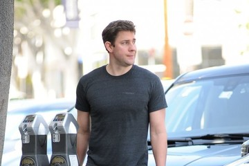 John Krasinski John Krasinski Spotted at the Gym