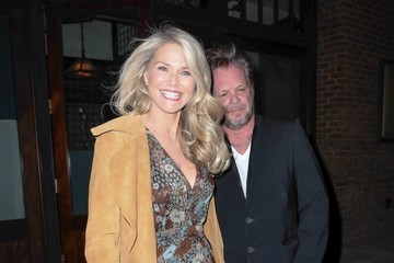 John Mellencamp Christie Brinkley and John Mellencamp Go Out in NYC