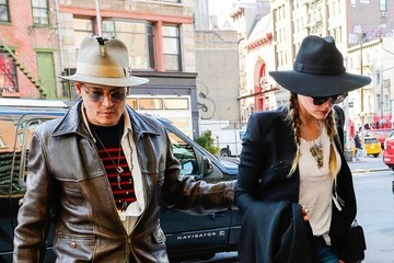 Johnny Depp and Amber Heard Love Hats