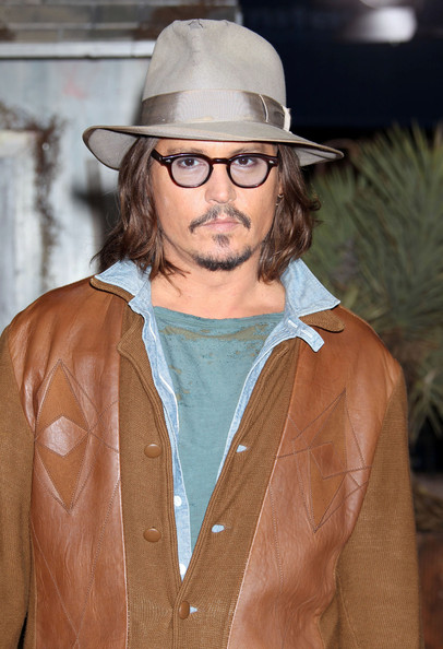 Johnny Depp Celebrities attending the Los Angeles premiere of 'Rango' at the Regency Village Theatre in Westwood, CA.