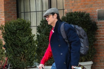 Johnny Knoxville Johnny Knoxville Steps Out In NYC