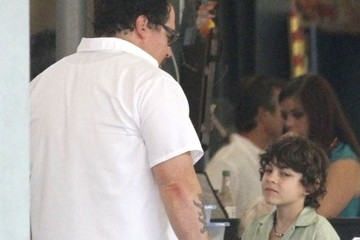 Jon Favreau Emjay Anthony Stars On The Set Of 'Chef' In New Orleans