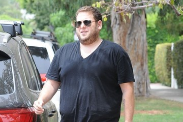 Jonah Hill Jonah Hill Hangs with His Dog