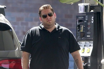 Jonah Hill Jonah Hill Getting Gas In Beverly Hills