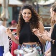 Jordin Sparks Hangs with E! News