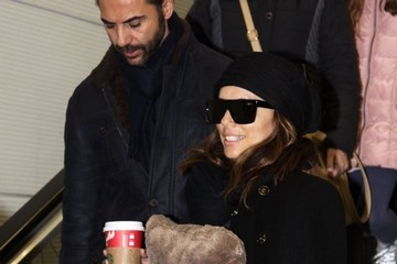 Jose Baston Eva Longoria Touches Down in DC