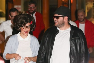 Josh Gad Celebrities Attend Katy Perry's Halloween/Birthday Party in Hollywood