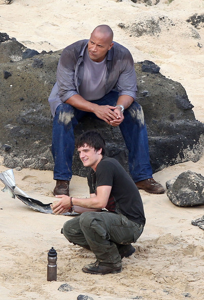 "Josh Hutcherson Pictures - Stars On Set Of ""Journey 2: The ..."