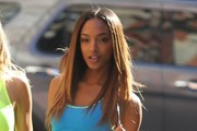 Jourdan Dunn Poses in NYC