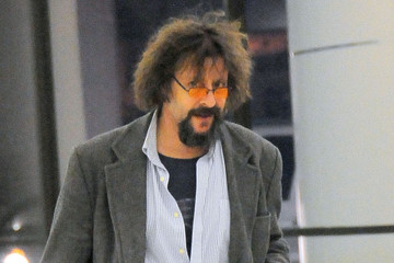 Judd Nelson Scruffy Judd Nelson Departing On A Flight At LAX
