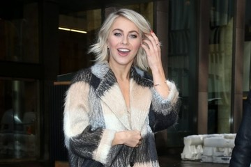 Julianne Hough Celebs Visit the Sirius Radio Studios