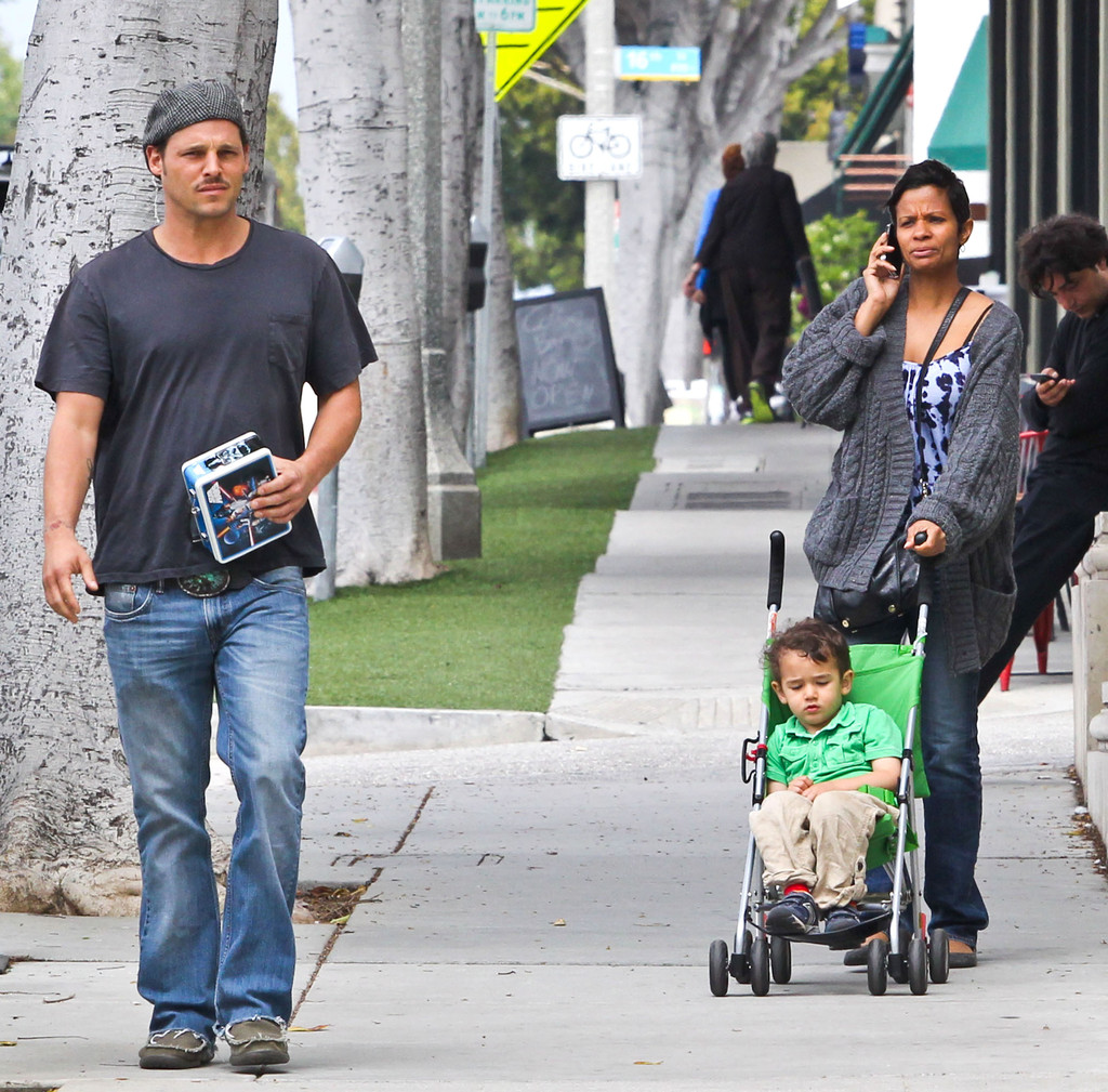 Justin Chambers And Family 2013