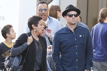 Justin Chambers Justin Chambers and His Family Shop at The Grove