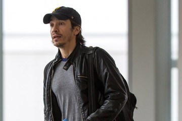 Justin Long Amanda Seyfried and Justin Long at JFK
