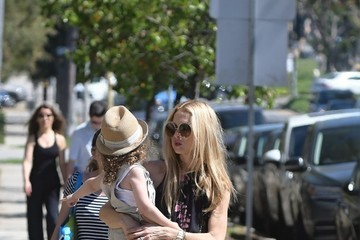 Kaius Berman Rachel Zoe and Her Family Enjoy the Farmer's Market in Los Angeles