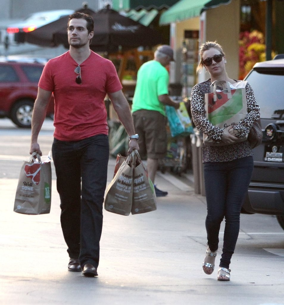 Kaley Cuoco, Henry Cavill - Kaley Cuoco and Henry Cavill ...