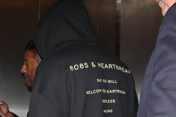 Kanye West Kanye West Catches a Flight out of LAX Airport in Los Angeles