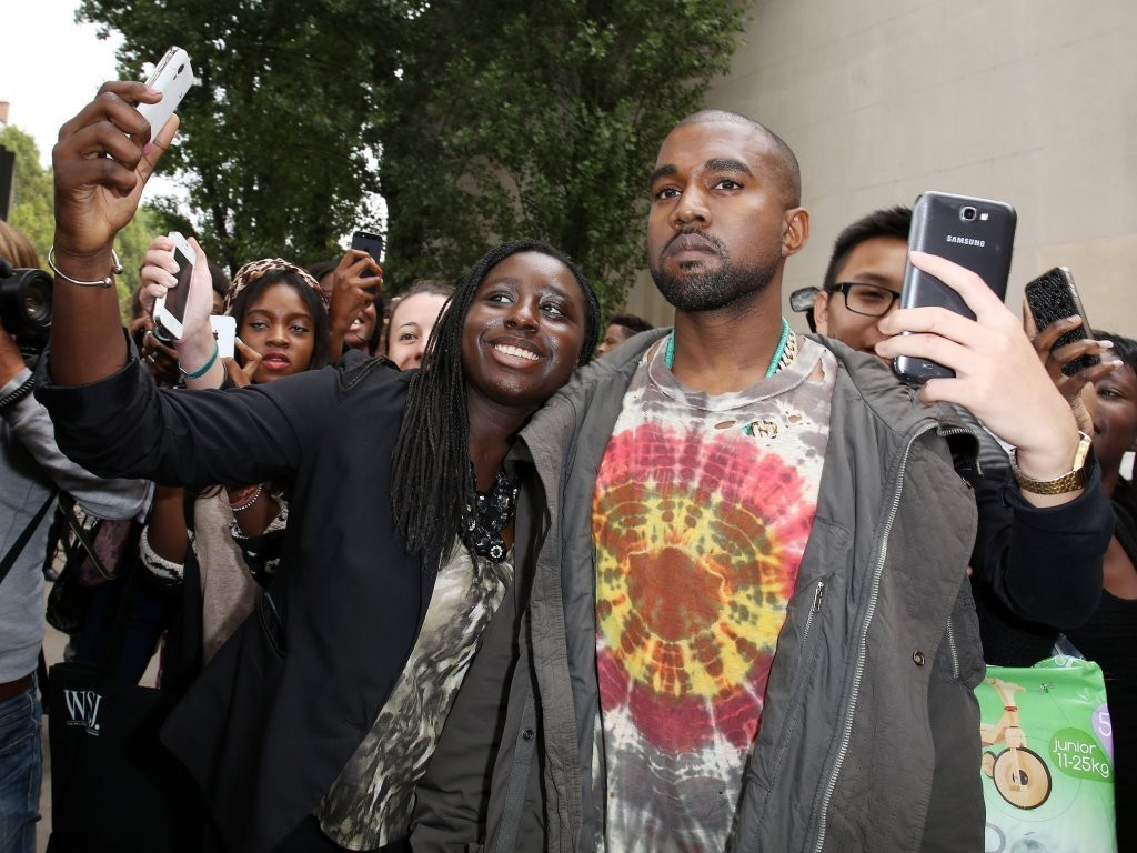 f8031ecbb431 Kanye West Photos Photos - Kanye West Attends Celine Fashion Show at ...