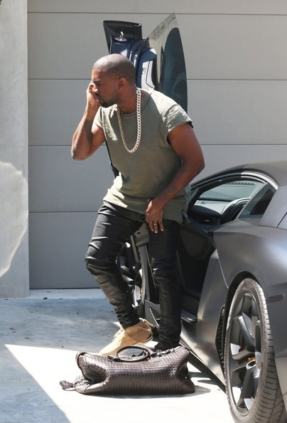 Kanye West Returns Home In Style