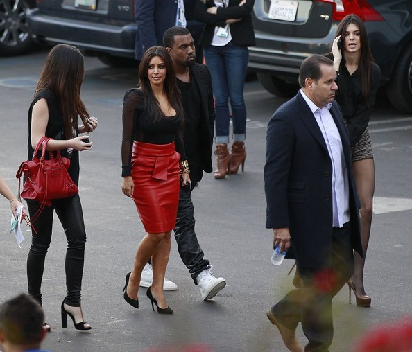 Kanye West and Kylie Jenner Photos»Photostream · Pictures · Kim Kardashian  Attends  X-Factor  Taping With Her Sisters And Boyfriend dc01cc26450e