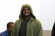 Kanye West Touches Down at LAX
